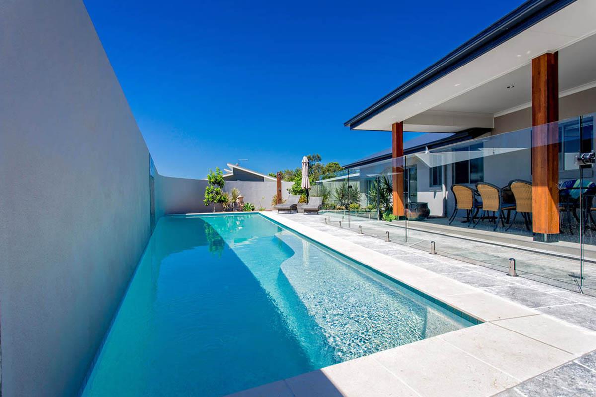 Sapphire Self Cleaning Solar Heated Pool Atlas Pools