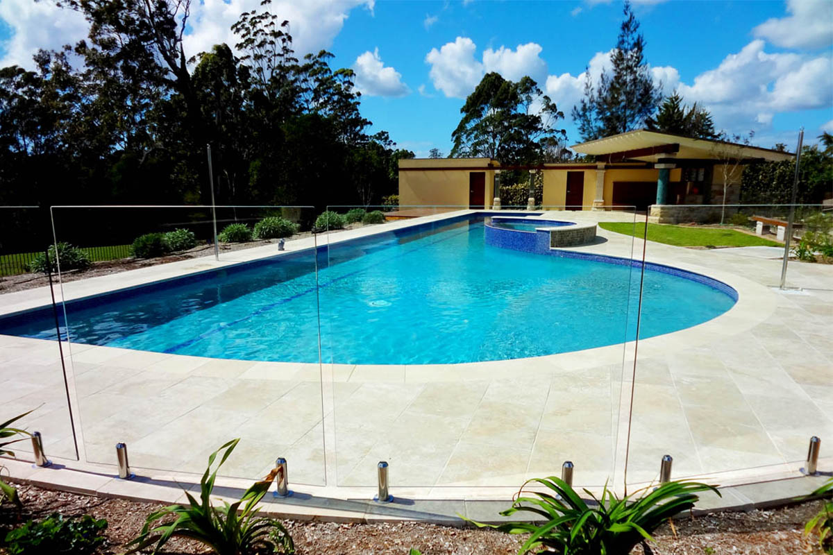 Port Macquarie Large Lap Pool With Magna Pool Sanitisation